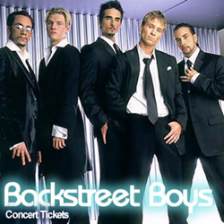 Backstreet Boys Concert Tickets