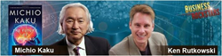 Google Hangout, Michio Kaku, Google Plus, Ken Rutkowski, Business Rockstars