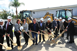 The new workforce housing property encompasses 132 apartments as the first phase of the 14-acre El Monte Gateway transit-oriented urban community in downtown El Monte, California.