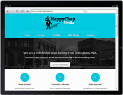 Responsive websites are now available at HappyChapMedia.com