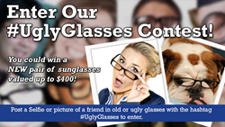 social media photo contest to find ugly eyeglasses