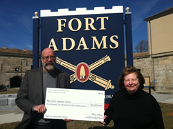 Fort Adams is a National Historic Landmark in Newport Rhode Island