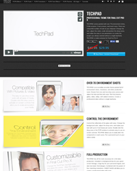FCPX Template -Final Cut Pro X Theme - Pixel Film Studios Plugins and Effects - TechPad