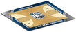 2014 NCAA Final Four floor