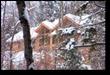 Enertia home in Vermont snowstorm.