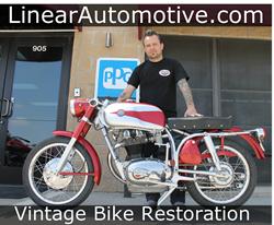 Vintage Motorcycle Restoration Service