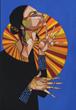 artist karen russell,karen russell,milepost five,gallery exhibit,artist exhibits,denizen gallery,portland art shows,portland art exhibit,portraiture art,Portland Oregon art,fine art,Portland artists,Solace in Color