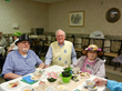 Approximately 90 residents from Luke Haven and Mark Manor enjoyed dressing up, sampling many varieties of teas and nibbling on finger sandwiches and fruit.  Cello music made the event even more special.  A good time was had by all.