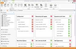 SharePoint Best Practices Dashboard