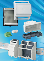 OKW RAILTEC-B DIN rail enclosures