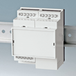 OKW RAILTEC-B DIN rail enclosures suit different terminal block configurations