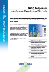 A new white paper from METTLER TOLEDO provides insight into hazardous-area regulations.
