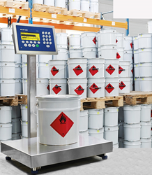The ICS466x weighing terminal provides maximum safety and ignition protection for hazardous-area applications.