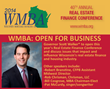 Union Home Mortgage CEO Bill Cosgrove Set to Speak at 2014 WMBA Real Estate Finance Conference