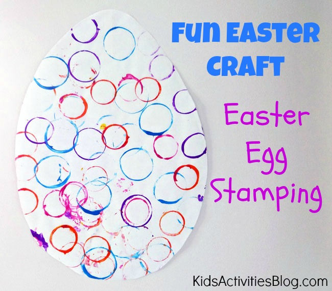 Easter craft ideas have been published on kids activities blog for Easter crafts for kindergarten