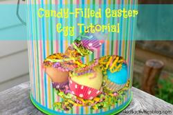 DIY filled eggs