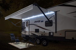 Lippert Components, Inc. (LCI®) is pleased to announce that Keystone's Sprinter brand now features LCI's Solera Power Awning, Awning LED Lights and Awning Speaker.