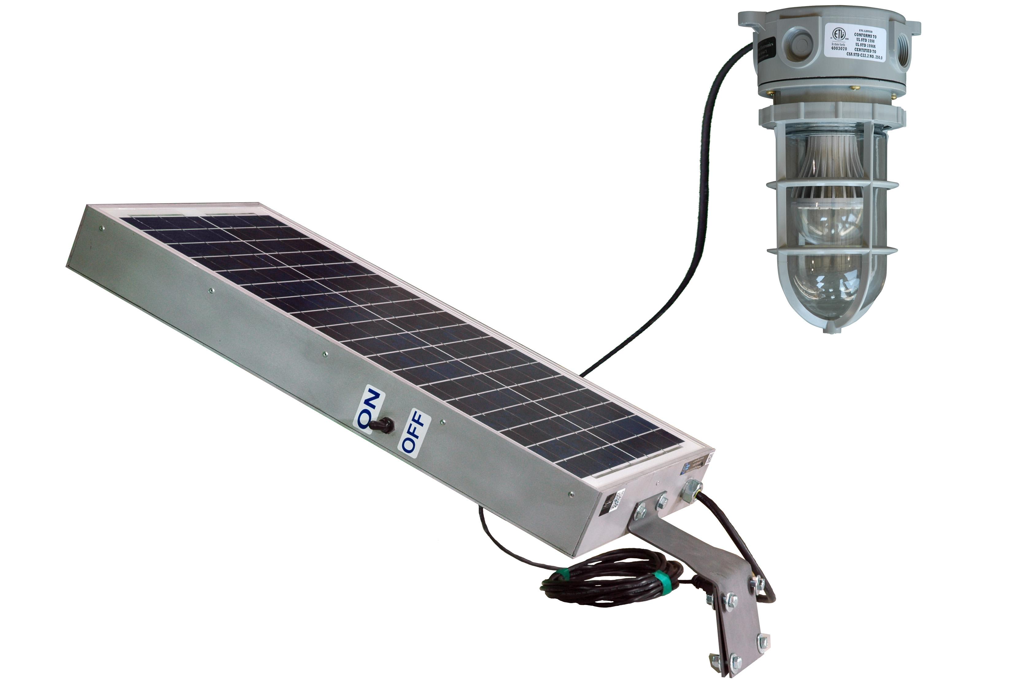 Solar Powered 10 Watt Led Hazardous Location Light