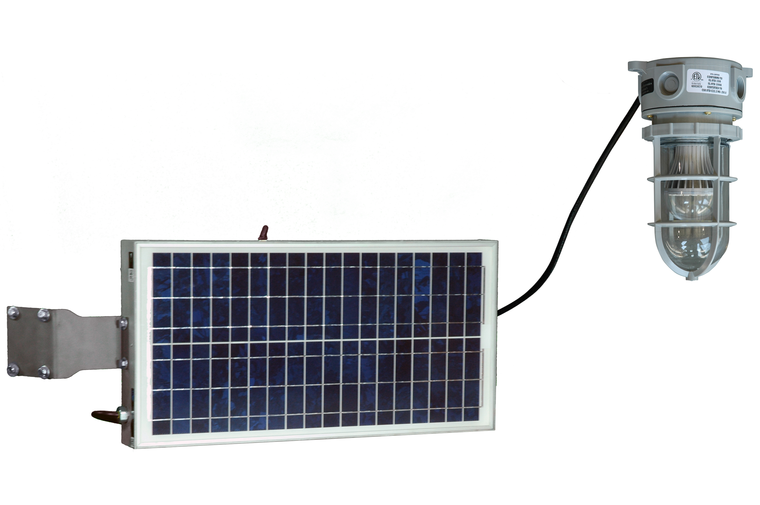 Solar Powered 10 Watt Led Hazardous Location Light