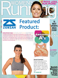 Women's Running Magazine featured the Zensah Seamless Sports Bra as one of the best sports bras ever.