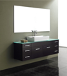 "James Martin Solid Wood 60"" Single Bathroom Vanity, Espresso 147-140-5331"