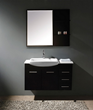 "James Martin Solid Wood 38.75"" Single Sink Bathroom Vanity, Espresso 147-519-DA-5131"