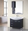 "Design Element Sierra 40"" Single Drop-In Sink Bathroom Vanity (DEC026)"