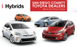The Cleaner Car Concourse and Toyota feature the latest in high mileage, low emissions vehicles.
