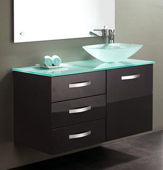 Homethangs Com Has Introduced A Guide To Bathroom Vanities With Offset Sinks
