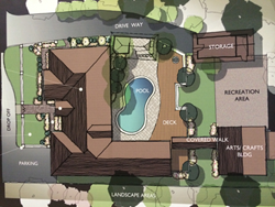 Plans for Tracey's Place