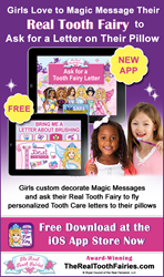 Tooth Brushing App from the Real Tooth Fairies