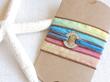 Silk Wrap Bracelet from Designs by Diane