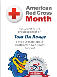 hostgator red accross promotion