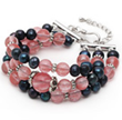 Three Strands Freshwater Pearl and Gemstone Bracelets Now Available on...