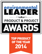 Urjanet Named a 2014 Product of the Year by Environmental Leader