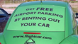 FlightCar members get free airport parking at LAX, BOS, and SFO when they rent out their car to approved travelers