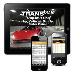 TransTec® Mobile App Offers New Features to Simplify Rebuilding Transmissions
