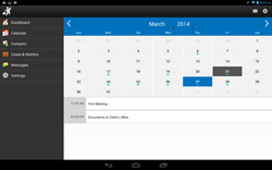 Android Calendar View Image