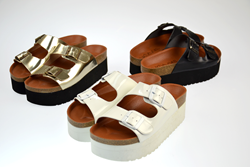 Sixtyseven Indigo Sandals now available at Envishoes.com