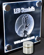 Outwater's LED Integrated Standoffs for Signage & Display
