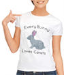 Every Bunny Loves Carats Pink T-Shirt Easter shirt