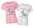 Diamond Easter Bunny Tee Shirt