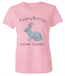 Diamond Easter Bunny Pink T-Shirt