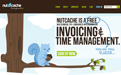 Nutcache website