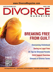 Divorce Magazine Spring 2014 cover