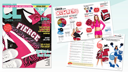 The third issue of CheerLiving magazine is a special Buyer's Guide edition