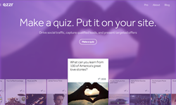 Qzzr.co allows anyone to make quizzes and add them to their own website.