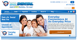 New Website for Dr. Dental - Family Dental Practice in New England