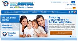 New Website for Dr. Dental - Family Dental Practice in New England