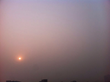 Sunset in Haze. Captured by MoWeather user tlrqq